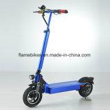 Scooter elétrico de liga leve de 600W com suspensão F / R, quilometragem 80km