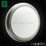 Lampe ronde de plafond de support d'éclat de DEL avec la couverture en verre givrée