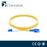 LC FC personalizada Sc Cable de conexión de fibra óptica ST