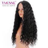 La onda de agua lleno encaje peluca larga peluca cabello humano.