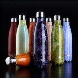 Preiswertester Wasser-Sport-Flaschen-Vakuumkolben des China-Preis personifizierte doppel-wandige Schwellen-750ml
