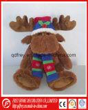 Cadeau d'OEM Chritmas de jouet de renne de peluche