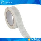 El PVC impermeable del precio RFID de la escritura de la etiqueta barata de la buena calidad NFC imprimió la escritura de la etiqueta de RFID NFC