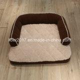 Basi di sofà di lusso del cane dei prodotti dell'animale domestico del tessuto della pelle scamosciata della base dell'animale domestico grandi
