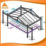 Ферменная конструкция крыши системы ферменной конструкции освещения высокого качества алюминиевая для согласия