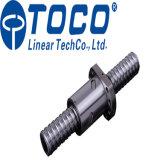 水平のバンド鋸引き機械のためのフランジのナットが付いているTocoのBallscrew