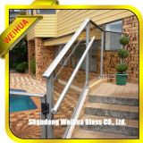 Corrimão da escada de vidro laminado de segurança com marcação, CCC, ISO9001