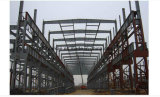 Struttura d'acciaio prefabbricata della costruzione di blocco per grafici d'acciaio della sezione di H per il workshop