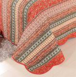 100% algodão colchas colchas Vermelho lavável de impressão