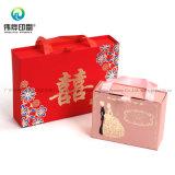 Savon artisanal Bijoux Personnalisé Papier de bonbons faveur de mariage cadeau de vente au détail de l'emballage Boîte d'impression