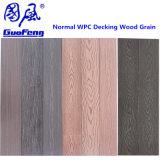Outdoor WPC Decking-de-chaussée, extérieur WPC un plancher de bois, facilement installé