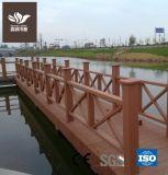 Le WPC recyclables de clôtures de jardin en plein air