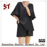 Kurzschluss-Hosen der Form-beiläufigen Dame-Short T-Shirt Set