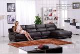 Sofá ajustado do couro genuíno da mobília de couro dos sofás para a mobília Home