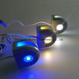 Luz de cristal de la decoración de la caja del alambre de la luz del estante de DC12V LED