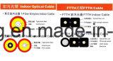 FTTH Council Cabo interior da linha de extrusão do extrusor para cabo de fibra óptica