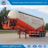 De Semi Aanhangwagen van de Tank van de tri-as/de Bulk Semi Aanhangwagen van de Tanker van het Cement voor Materiële Vervoer van het Poeder