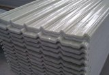 Hoja acanalada reforzada fibra de vidrio del material para techos del poliester FRP