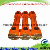 Diferentes tipos Cardan eje diseñado para caucho y plástico