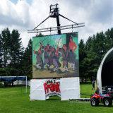 Comitato di parete esterno della visualizzazione di LED di colore completo 500X500mm di P4.81 P5.95 P6.25 video per uso mobile