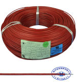 Flexível de borracha de silicone resistente ao calor o fio condutor de cobre