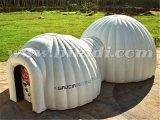 Doppelzimmer-aufblasbares Abdeckung-Zelt, aufblasbares Iglu-Zelt für Verkauf K5066