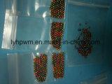 Couleur de scopie fendu de perles de pêche de tungstène pour voler le liage