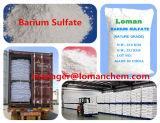 Sulfate de baryum précipité par marque de Loman, poudre blanche avec la finesse très uniforme