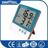 Una temperatura visualizzazioni delle due e dell'uno schermo e termometro di umidità