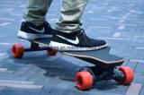 単一モーターを搭載する4つの車輪の電力のスケートボード