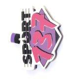 Trousseaux de clés de flottement d'EVA de mousse de forme personnalisés par logo en gros d'impression