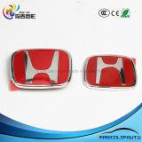 Het rode Voor AchterKenteken van het Embleem van het Traliewerk voor Honda