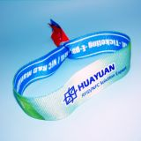 Самым новым Wristband ткани RFID празднества нот NTAG213 сплетенный карманн