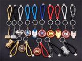 Hete Verkoop Gediversifiërd Kapitein America Metal Key Chain