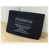 Usine de vêtements de marque personnalisée couture pas cher sur le tag damassés cou étiquette tissée principal