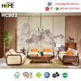 De Houten Eettafel van de Okkernoot van de luxe voor de Reeks van de Eetkamer (HCD01)