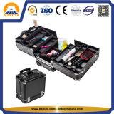 분배자 (HB-6413)를 가진 최신 판매 아름다움 메이크업 트롤리 상자