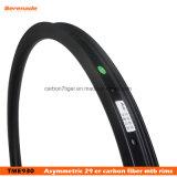 Le carbone de vélo de montagne 29 Poids léger Rim Ud Matte 3K de la surface de freinage de la jante en alliage de 29er roue de vélo Sport TUBELESS