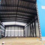 販売のターンキープロジェクトのためのプレハブの鉄骨フレームの構造の家