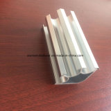 Quadrat, rundes, unterschiedliches Aluminiumlegierung-Strangpresßling-Profil für Tür und Fenster-Gefäß 58