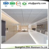 Suspendido fácil de limpiar los materiales de construcción punzonado de chapa de aluminio perforado techo