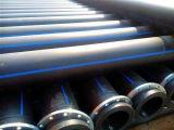 HDPE Bagger-Rohr mit geflanscht