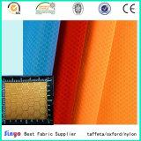 Materia textil Oxford 420d poca tela del PVC del diamante para los bolsos del deporte