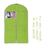 Sacchetto pieghevole riutilizzabile di vendita caldo del vestito dell'indumento di Eco di marchio su ordinazione