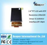 "Interfaz TFT LCD de 240*320 Spi de la pantalla 2.4 de TFT LCD "" con la pantalla táctil resistente"