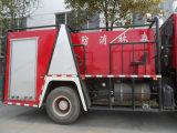 Sino HOWO 4X2の水漕の消火活動のトラック