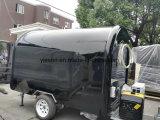 Los carros de Venta Ambulante de color negro