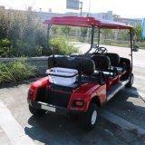 4 carrelli facenti un giro turistico elettrici di Seater
