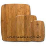 Tajadera de bambú vendedora caliente de la tarjeta de corte