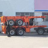 2半車軸20FT平面の容器のトレーラーか骨組トレーラー